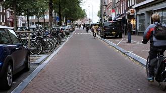 amsterdam bike lanes