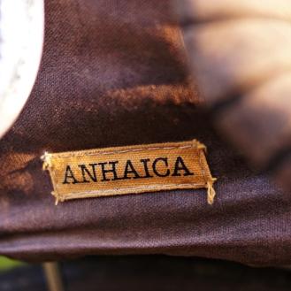 Anhaica logo on rando bag