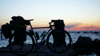 Eksta sunset bike