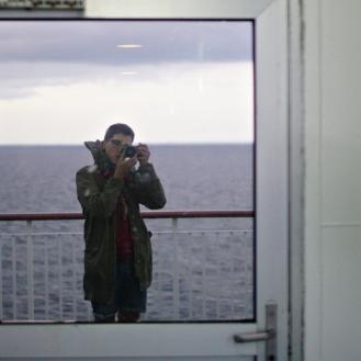 ferry_self portrait_going to oskarshamn