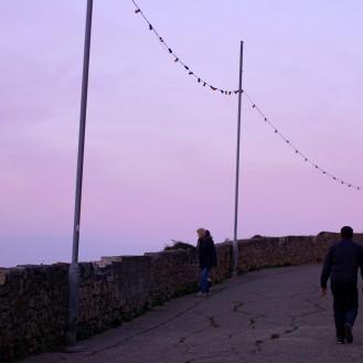 Ireland Bray Sunset walking path