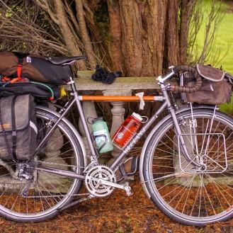 Ireland Galway Bike Portrait