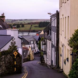 Ireland Kinsale steep road
