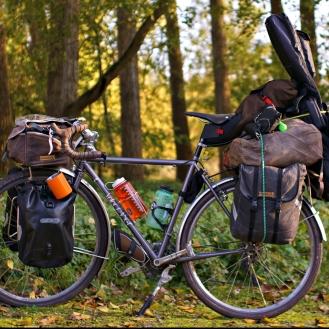 loaded bike in belgium 2
